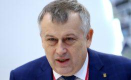 Работа стенда ТАСС в первый день Российского инвестиционного форума